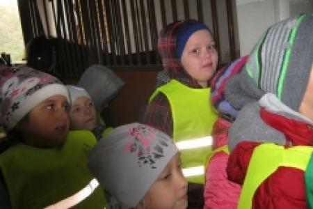 Wycieczka uczniów klas II do Parzynowa