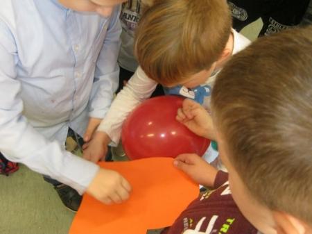 Zabawa Andrzejkowa w klasach I - II