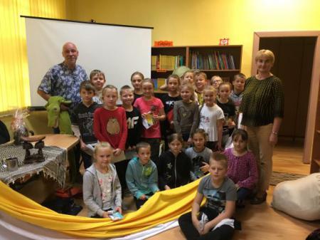 Spotkanie z Łukaszem Wierzbickim - autorem książek dla dzieci