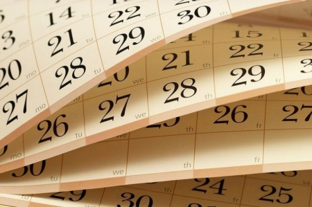 Uwaga dni wolne od zajęć!